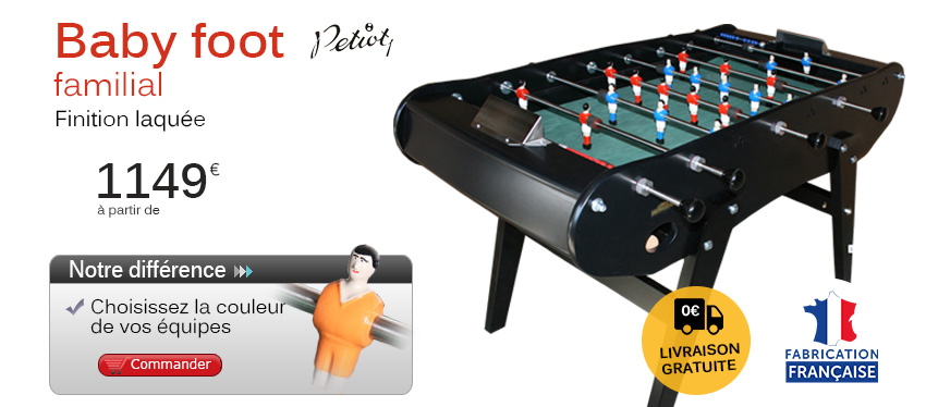 Babyfoot familial