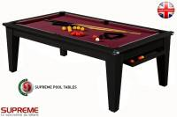 Billard Pool York 6ft Noir
