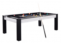Billard Ottawa 7 FT U.S - Finition design Marbre avec Tapis Noir