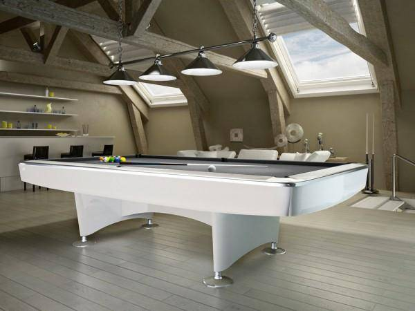 billard menphis blanc 8 u s jmj billard. Black Bedroom Furniture Sets. Home Design Ideas