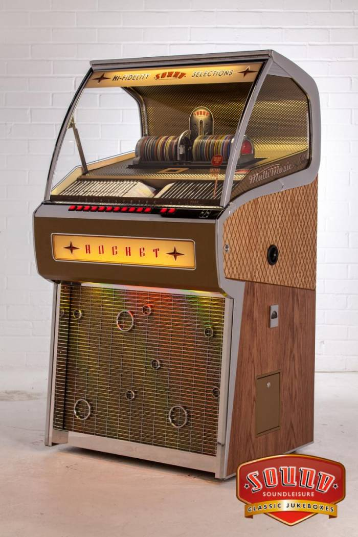 Jukebox Sound Leisure Rocket 88 Jmj Billard